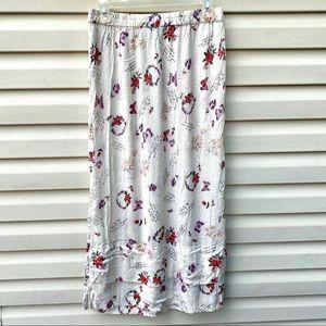 🌻Boho Chic Maxi Skirt Size Large 🦋